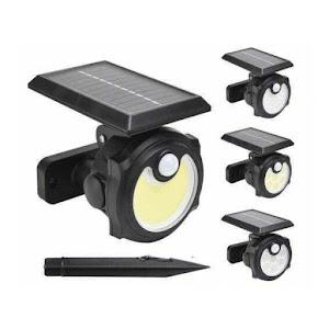 Lampa solara 48 LED COB cu senzor de miscare si lumina, SH-1705C