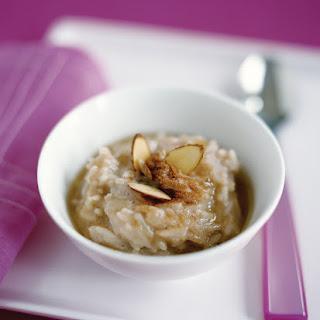 Quick Cinnamon-Almond Rice Pudding Recipe