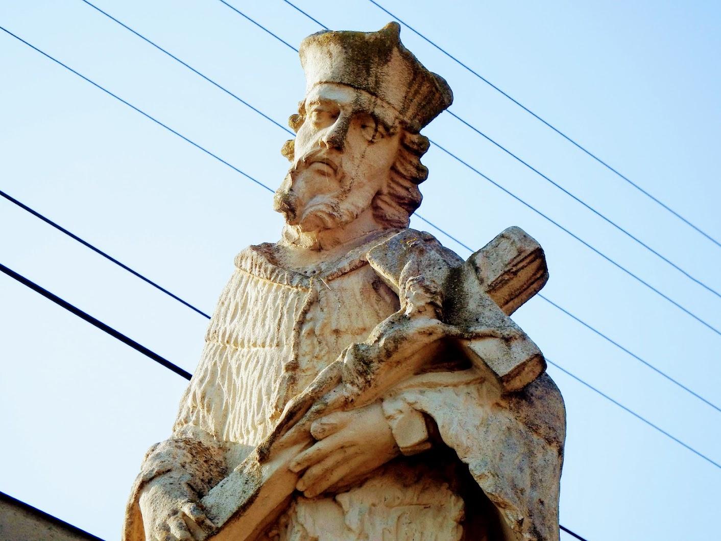 Simaság - Nepomuki Szent János-szobor