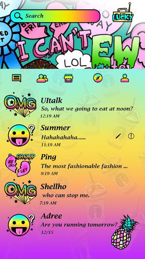 (FREE) GO SMS PRO OMG THEME|玩個人化App免費|玩APPs