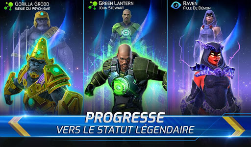 Code Triche DC Legends lutte pour just. APK MOD screenshots 3