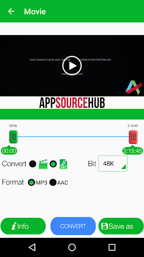 Video to MP3 Converter, RINGTONE Maker, MP3 Cutter for PC