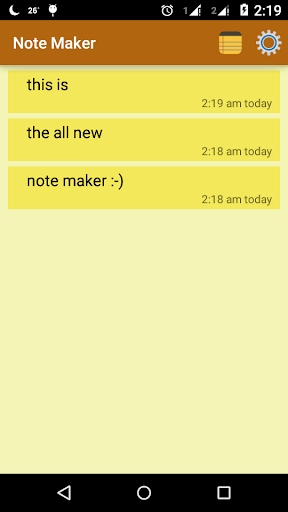 Note Maker Notepad