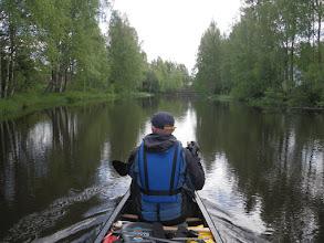 Photo: Alajärvi meni heittämällä ja matka jatkui Kurejokea.