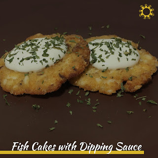 Fish Cakes with Dipping Sauce.