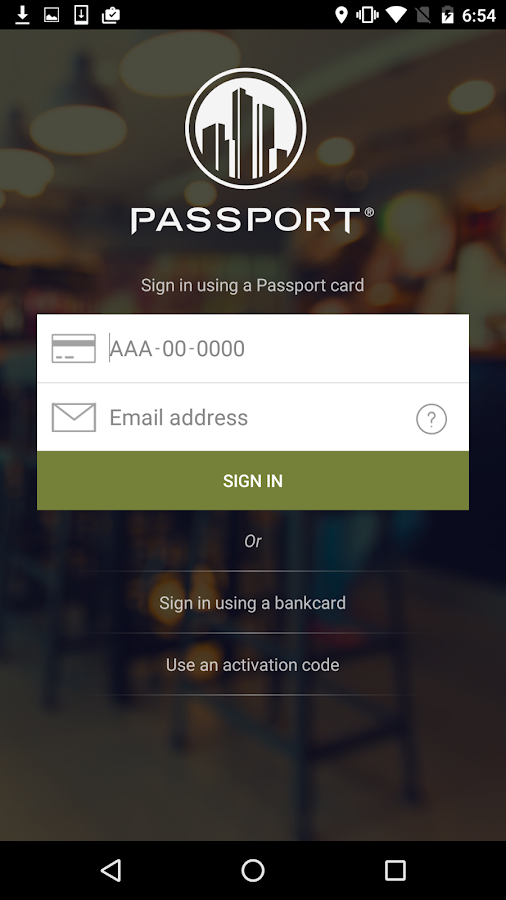 Passport Mobile- screenshot