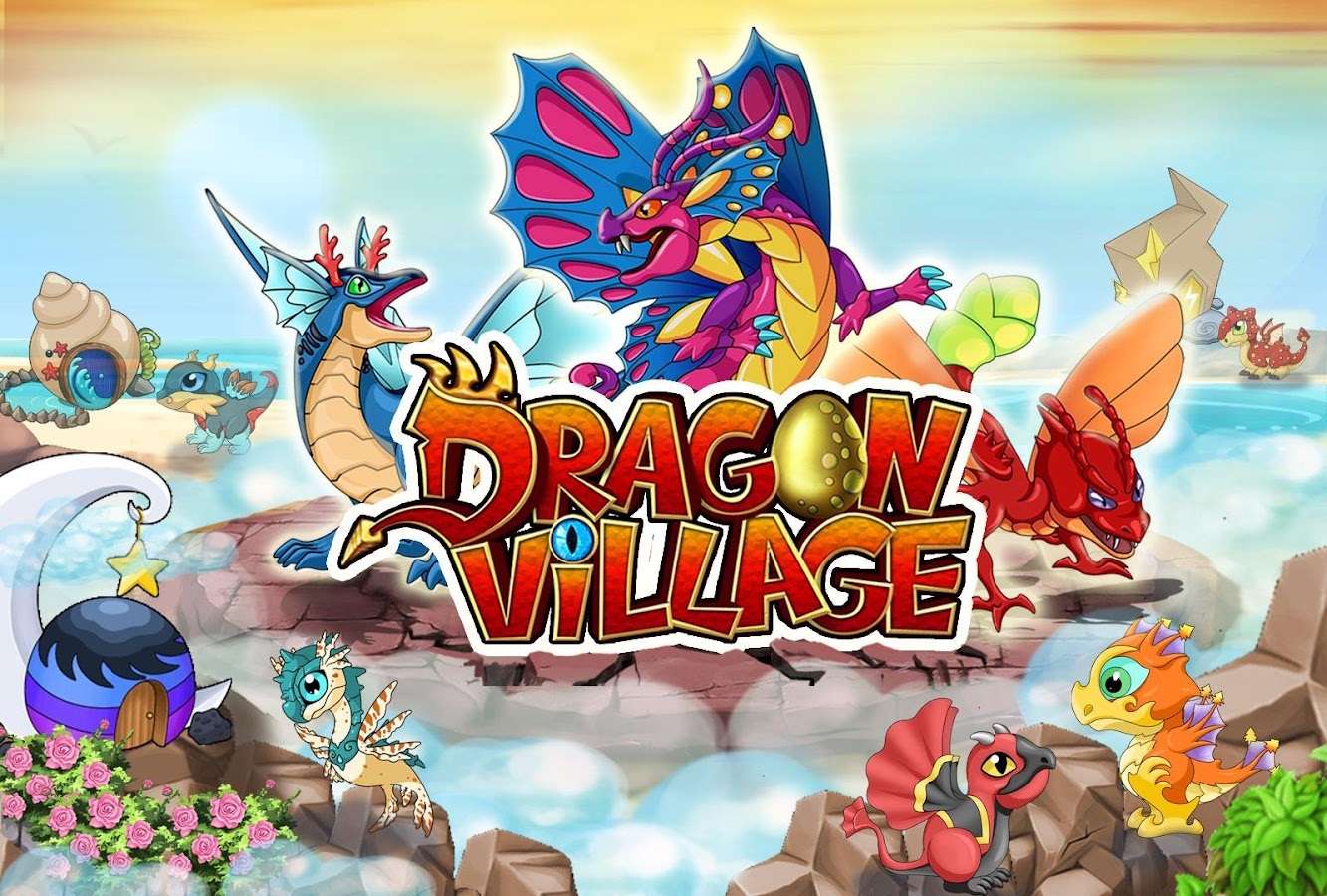 Dragon Village City Sim Mania Screenshot