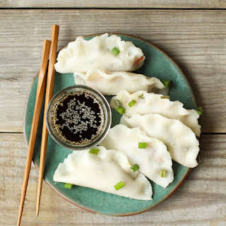 Vegan Dumplings with Easy Gluten-Free Wonton Wrappers.