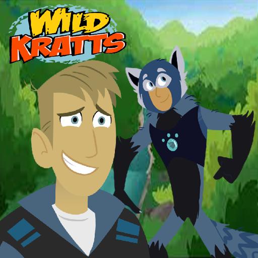 Wild hero Kratts Adventure Run