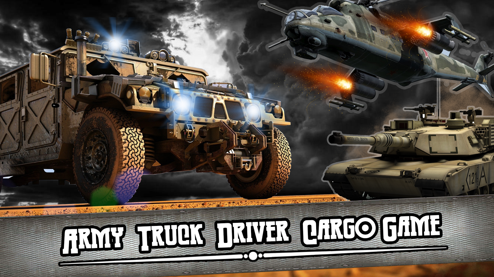 Army Truck Driver Cargo Game- screenshot