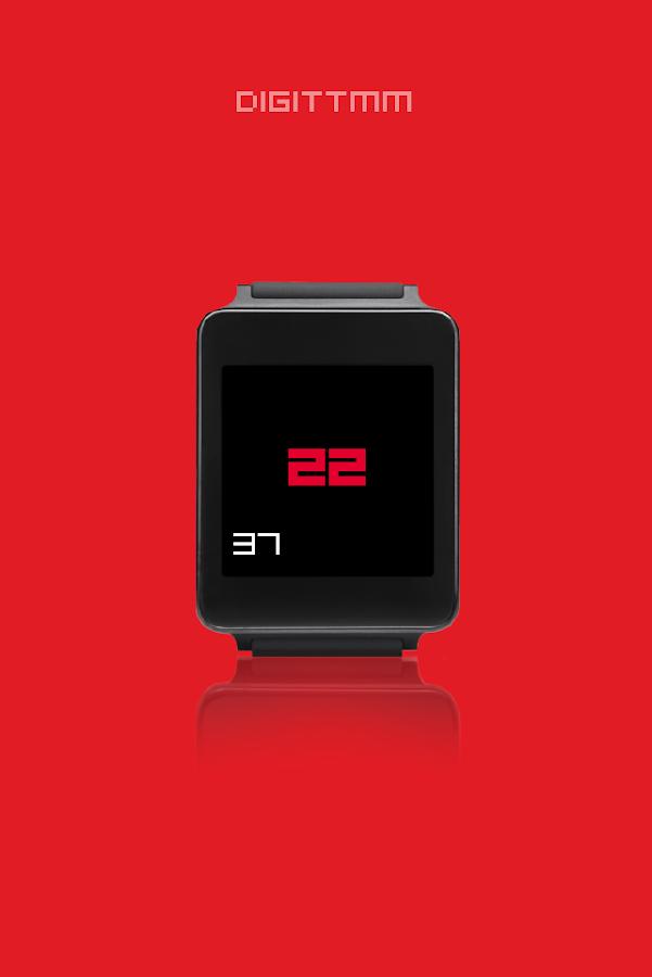 DIGITTMM - Wear watch face
