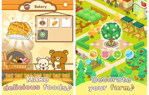 Télécharger Rilakkuma Farm apk mod screenshots 2