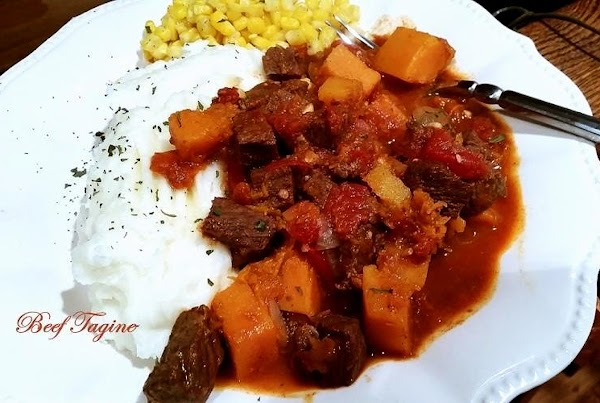 ~ Tasty Beef Tagine ~ Recipe