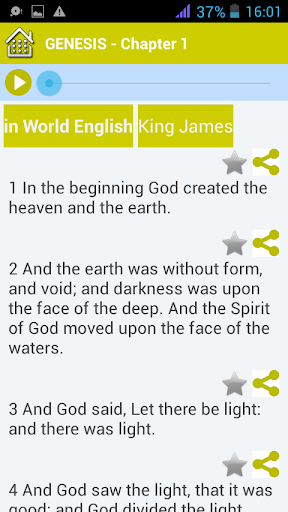 King James Bible Audio - Download And Stream App Report on Mobile