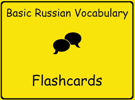 Basic Russian Flashcards