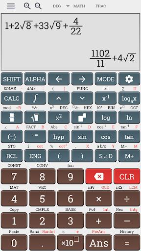 Algebra scientific calculator 991 ms plus 100 ms 4.0.8-23-06-2019-12-release screenshots 2