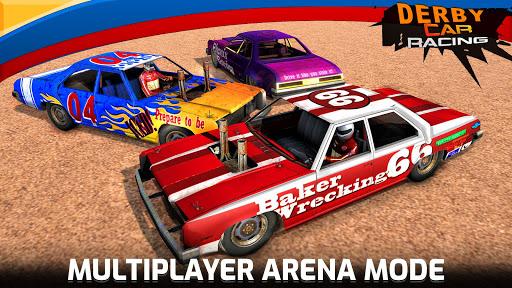 Derby Car Crash Stunts Demolition Derby Games apkpoly screenshots 2