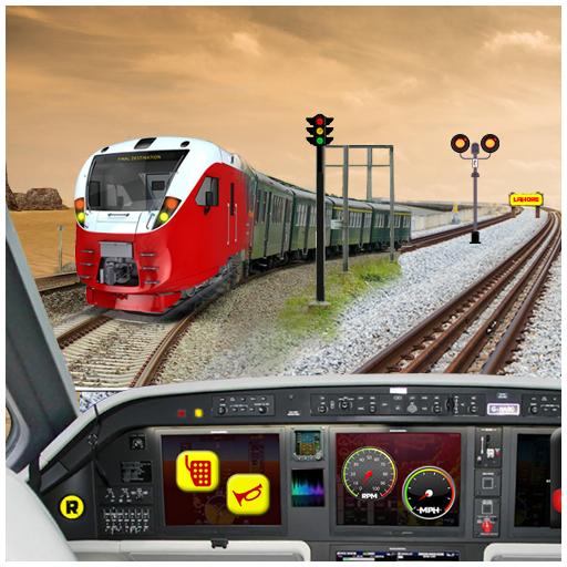 Subway Train Cockpit Driver 3D