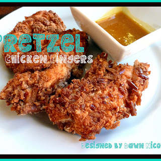 Pretzel Chicken Fingers