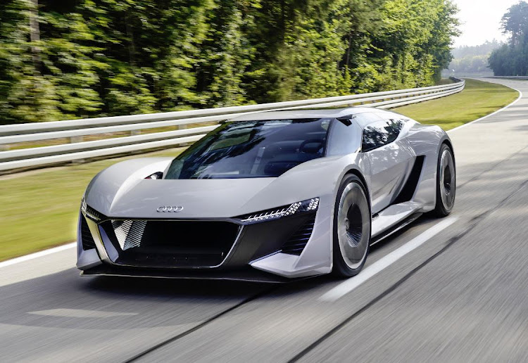 The Audi PB18 E-tron gives a glimpse into what Audi says will be possible in a few years. Picture: NEWPRESS UK