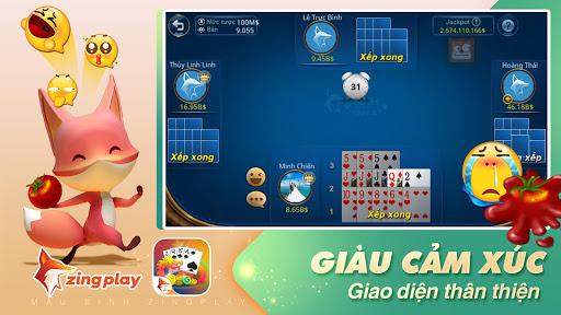 Poker VN - Mu1eadu Binh u2013 Binh Xu1eadp Xu00e1m - ZingPlay apktram screenshots 3