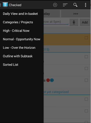 Checked Task and Calendar Pro
