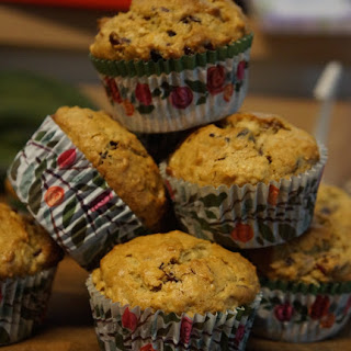 Cranberry Orange Oatmeal Muffins