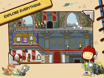 لعبة Scribblenauts Unlimited 9
