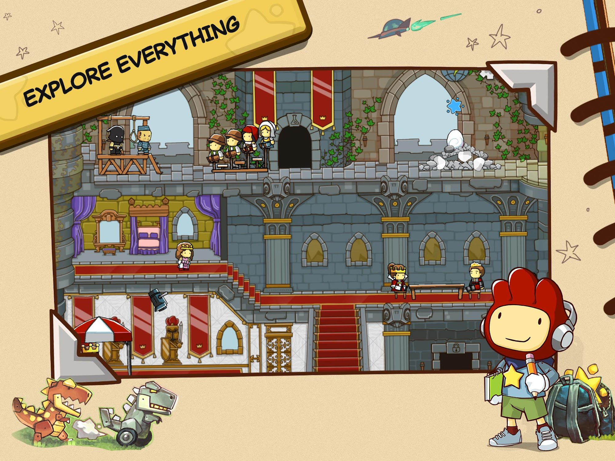 Scribblenauts Unlimited screenshot #9