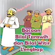 Bacaan Bilal Tarawih dan Bilal Witir Lengkap