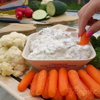 Vegetable Garden Dip
