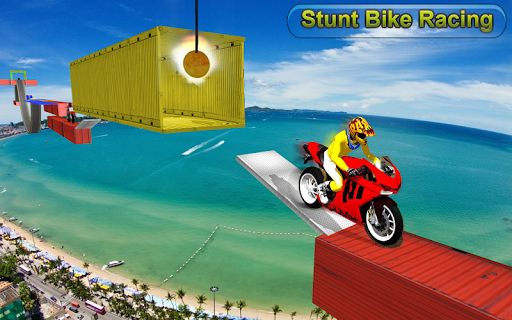 Racing Moto Bike Stunt -Impossible Track Bike Game apkdebit screenshots 2