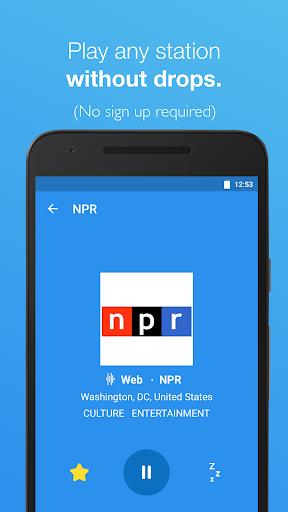 Simple Radio - Free Live FM AM  screenshots 2