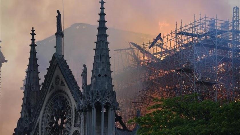 Imagen de la cubierta de la catedral de Paris. /Mehdi Chebil-Europa Press