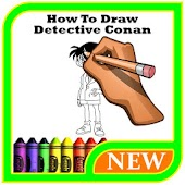 How To Draw Detective Conan Easy Mod