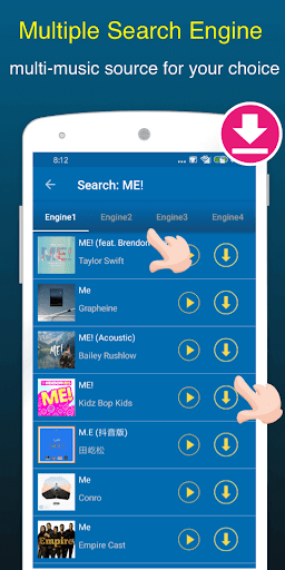 Free Music Downloader & Mp3 Music Download & Song screenshot 3