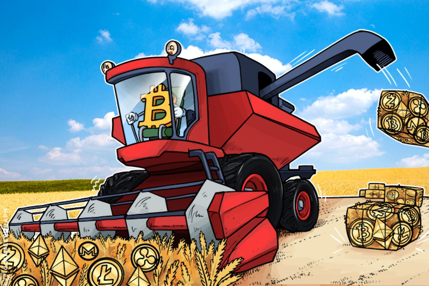 A combine sorting bitcoins