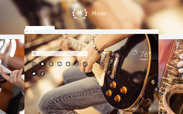 Music HD Wallpapers New Tab Theme
