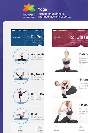 Yoga - Poses & Classes  screenshots 9