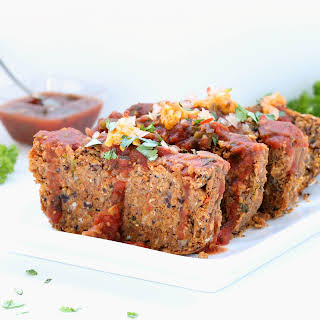 Mexican Vegan Meatloaf (Gluten-free, Plant-based, Low Fat).