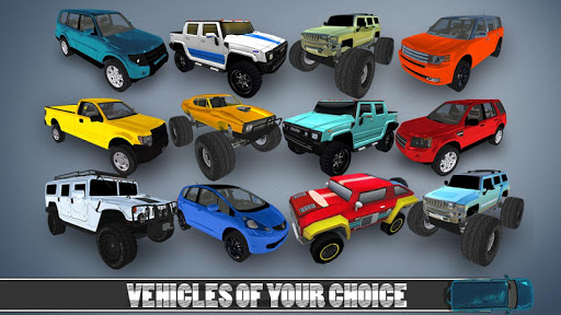 4X4 Jeep stunt drive 2019 : impossible game fun screenshots 2