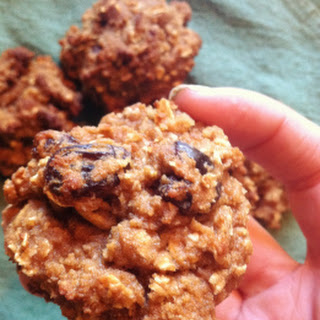 Coconut Flour Oatmeal Raisin Cookies.