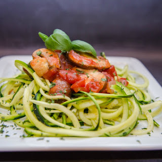 Zoodles and Homemade Pasta Sauce