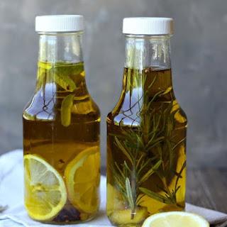 Rosemary & Lemon Infused Olive Oil Recipe