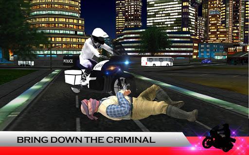 Police Moto: Criminal Chase screenshot 8