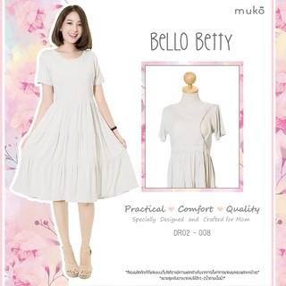3. Muko Dress เดรสคุมท้อง Muko Bello Betty DR02