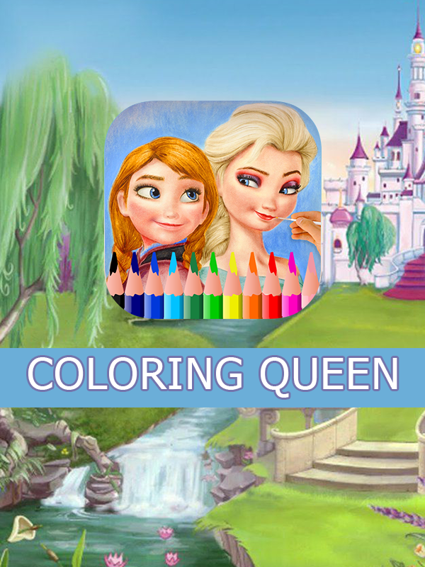 Coloring Queen 2- screenshot