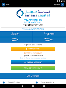 AmanaCapital- screenshot thumbnail
