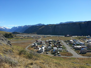 Photo: This is El Chalten. I fell in love with this little town.