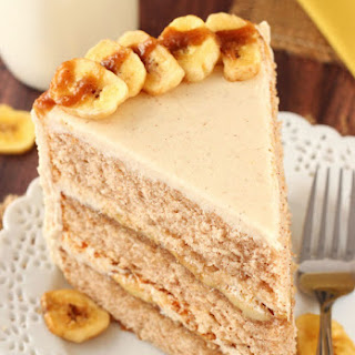 Bananas Foster Layer Cake.